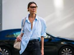 衬衫的五种升级版穿法,开启你的衬衫式时髦